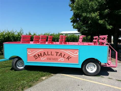small talk vineyards niagara   lake