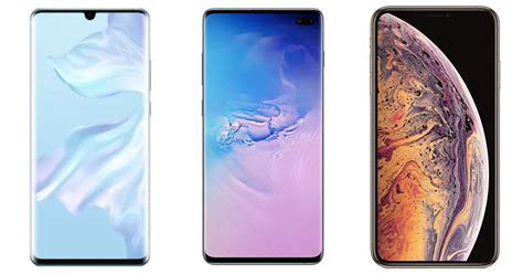 huawei p30 pro vs samsung galaxy s10 vs iphone xs max price specifications compared