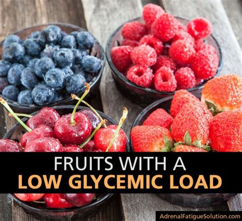 fruit gi index which fruits the lowest glycemic load