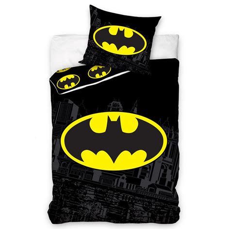 batman bedding set dc comics batman superman duvet cover and pillowcase