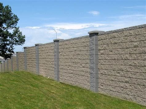 Decorative Cinder Blocks Home Depot by Best 25 Concrete Fence Panels Ideas On Pinterest Fence