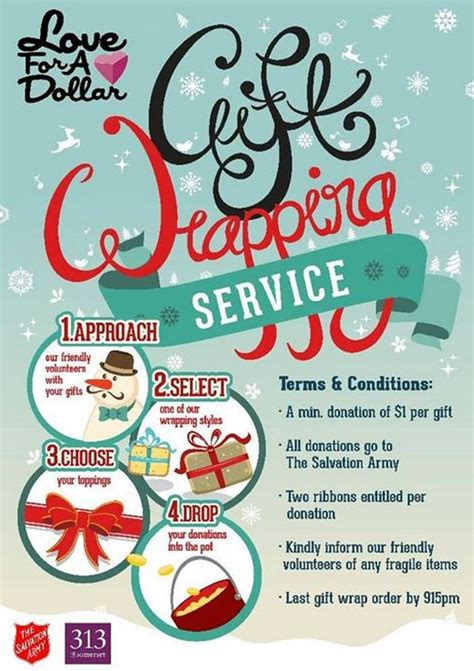 lovefad gift wrapping service sg volunteer