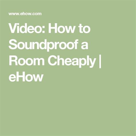 how to soundproof a room cheaply best 25 soundproofing a room ideas on diy soundproof room sound proofing and