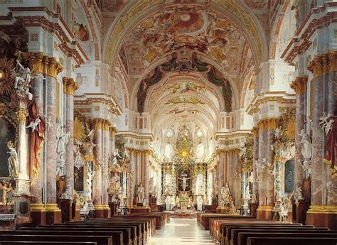 baroque architecture really rich decoration of baroque architecture at st