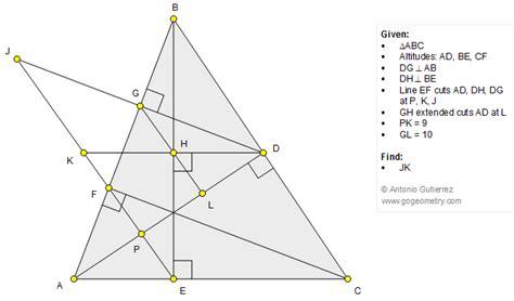 triangle pattern problem geometry problem 1257 triangle altitude perpendicular
