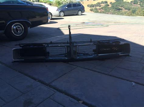 dodge charger rt grill sold 1969 dodge charger rt front grill and clip