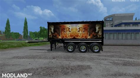 volvo truck and trailer for grave digger peterbilt 379 truck trailer volvo truck