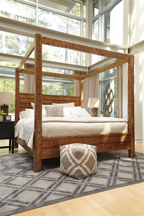 ashley canopy bed photo page hgtv
