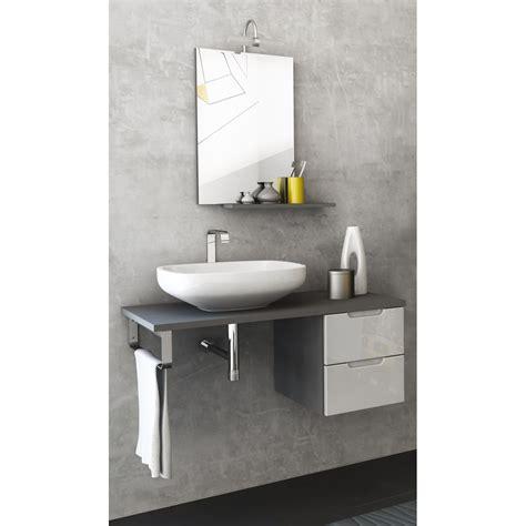 Badezimmer Unterschrank Grau by Badm 214 Bel Set Badezimmer Unterschrank Spiegel