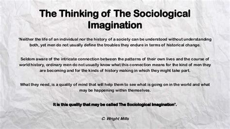 sociological biography definition the sociological imagination
