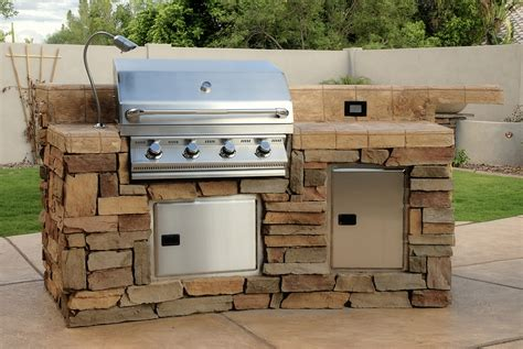 Backyard Bbq Kits Bbq Island Kits Home Design Ideas