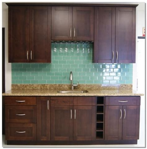 expresso cabinets for kitchen and bar new