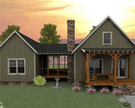 guest suite house plans plan 92318mx 3 bedroom dog trot house plan traditional craftsman and design