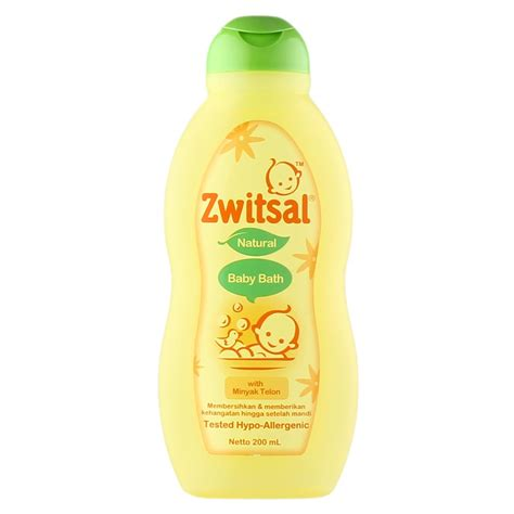 Baby Bath With Telon 300ml zwitsal baby bath telon 200ml medanmart