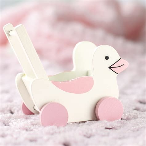 pink dollhouse dollhouse miniature pink duck stroller it s a