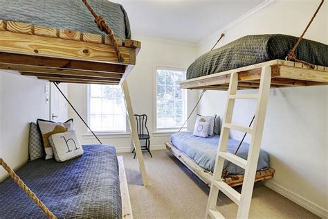 Floating Bunk Beds Floating Beds Cottage Boy S Room Har