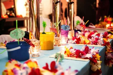 Thai Decorations by Koh Samui Themed Table At A Think Thai Ideas