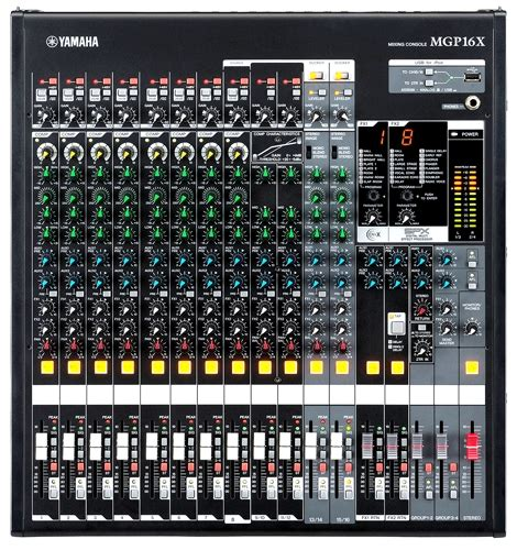 Mixer Yamaha Mgp 16 Channel yamaha mgp16x mixer performer mag