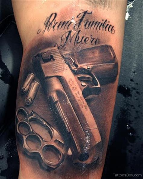 gun tattoos tattoo designs tattoo pictures page 8