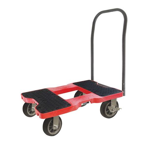 Home Depot Kitchen Design Services Snap Loc 1500 Lb Capacity All Terrain Push Cart Dolly In