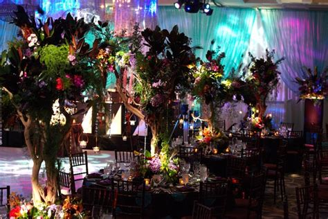 "Colorful Ballroom Wedding in Chicago with ""Enchanted"