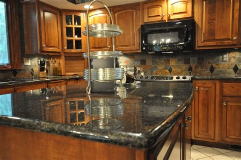 Kitchen Backsplash Panel by Granite Countertops And Tile Backsplash Ideas Eclectic