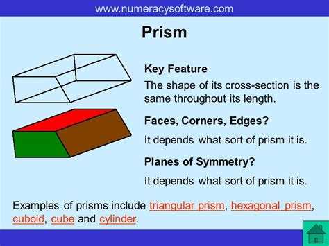 what is the cross section of a prism properties of 3 d shapes ppt video online download