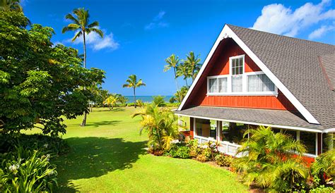 hawaii cottage rentals the hanalei house vacation rental in hanalei hawaii