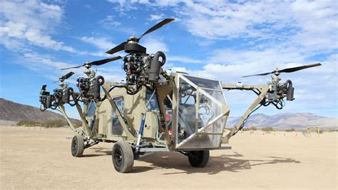 Drone Original this flying drone helicopter truck is a real
