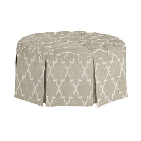 tufted ottoman with skirt tufted ottoman with pleated skirt home decor