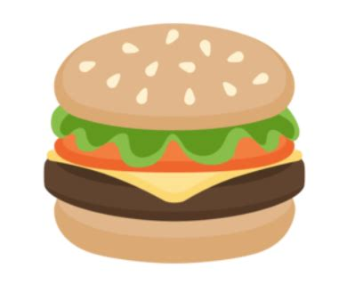 emoji burger forget smartphones apple and google are waging a burger