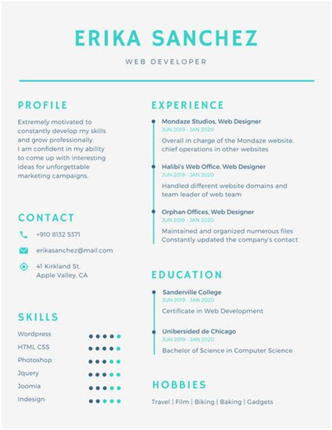 simple resume canva simple infographic resume templates by canva