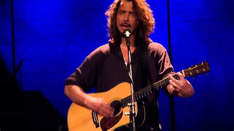 chris cornell sunshower live youtube