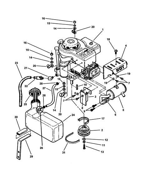 snapper lawn mower parts diagram engine fuel tank diagram parts list for model