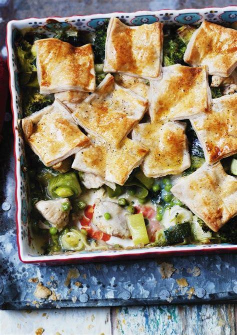Patchwork Foods - chicken and leek patchwork pie leek pie healthy comfort