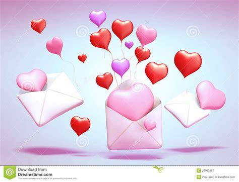 imagenes de amor 3d 3d love mail stock illustration illustration of concept
