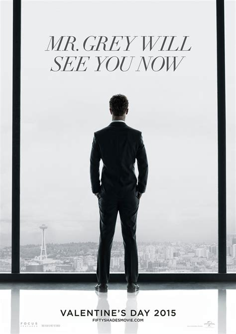 when is the film fifty shades of grey out photo 50 shades of grey movie poster revealed