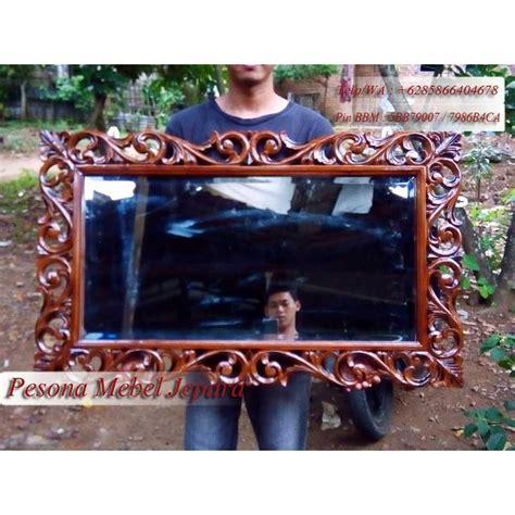 Cermin Panjang pigura cermin ukir persegi panjang pesona mebel jepara