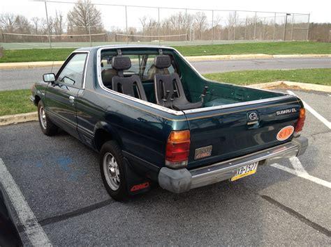 old subaru brat 1982 subaru brat rear seats subaru brat pinterest