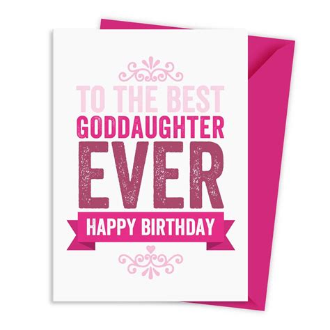 Happy Birthday Wishes For My Goddaughter Birthday Wishes For Goddaughter Archives Nicewishes