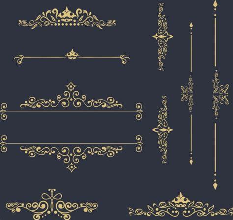 design elements symmetry classical decor design elements various curved symmetry