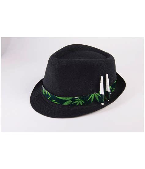 themed hats cannabis and marijuana themed fedora hat hats