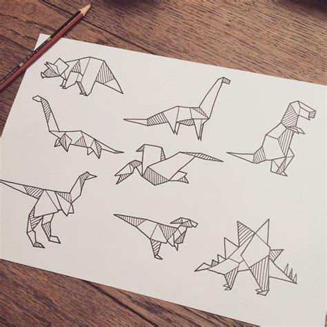 Origami Dinosaur Band - origami dinosaur sketch search decor