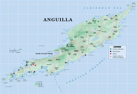 anguilla world map anguilla maps
