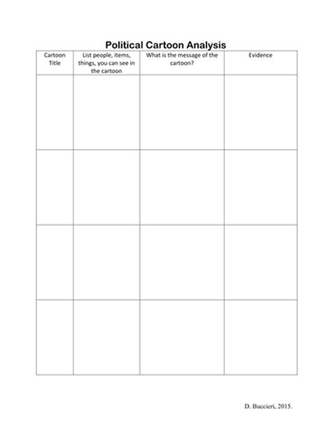 Political Analysis Worksheet Answers
