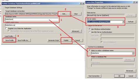 tutorial visual studio 2012 database project database project tutorial using visual studio 2012