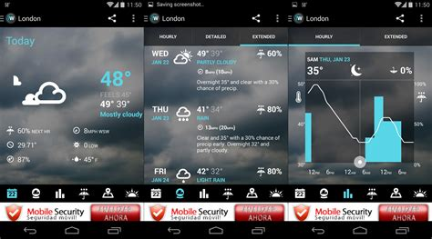 android weather 1weather the definitive weather app for android uptodown en