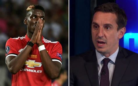 gary neville brands pogba s man united news paul pogba can only blame himself neville