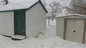 crushed dead by snow building an igloo for boy in