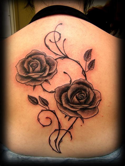 50 Beautiful Rose Tattoo Designs Entertainmentmesh Tattoos Of Roses Pictures